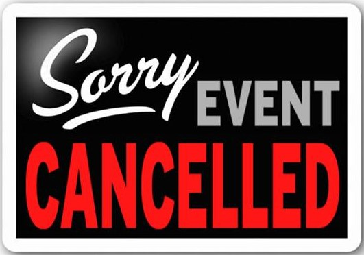 This weeks races have been cancelled